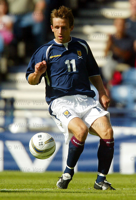 Neil McCann, Scotland.stock season 2003-04..pic willie vass
