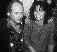 Art Garfunkel and Penny Marshall 1985<br /> Photo By John Barrett/PHOTOlink