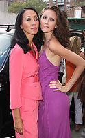 New York City 08-12-08<br /> Pat Cleveland & daughter Anna Cleveland<br /> outside of Tyra Banks show celebrates all black <br /> model issue of Vogue Italia after taping of show.<br /> Photo By John Barrett/PHOTOlink