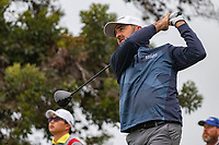 26th January 2020, Torrey Pines, La Jolla, San Diego, CA USA;  Rhein Gibson hits his driver during the final round of the Farmers Insurance Open at Torrey Pines Golf Club on January 26, 2020 in La Jolla, California.