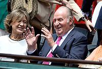 Juan Carlos - Internationaux de france de tennis de Roland Garros 2017 - Finale MESSIEURS