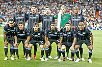 Manchester City's team photo during Champions League match. September 18, 2012. (ALTERPHOTOS/Alvaro Hernandez). /NortePhoto.com<br />