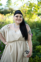 Beth Ditto at Elton John's White Tie and Tiara Ball
