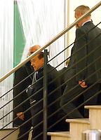 20140118 ROMA-POLITICA: BERLUSCONI INCONTRA RENZI NELLA SEDE DEL PD