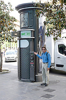 On the street pay water closets offer residents and tourists clean facilities