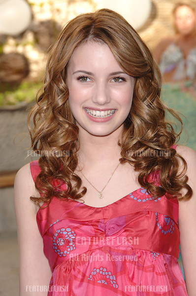 EMMA ROBERTS at Los Angeles premiere of her new movie Aquamarine..February 26, 2006  Los Angeles, CA.© 2006 Paul Smith / Featureflash