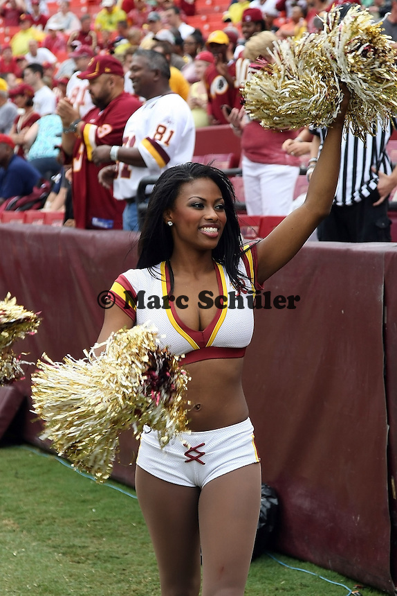 Cheerleader der Washington Redskins