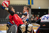 2019 IWRF Wheelchair Rugby European Championship GB v Switzerland Aug 7th
