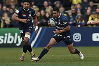 11th January 2020, Parc des Sports Marcel Michelin, Clermont-Ferrand, Auvergne-Rhône-Alpes, France; European Champions Cup Rugby Union, ASM Clermont versus Ulster;  Iasia Toeava (asm)  open field run