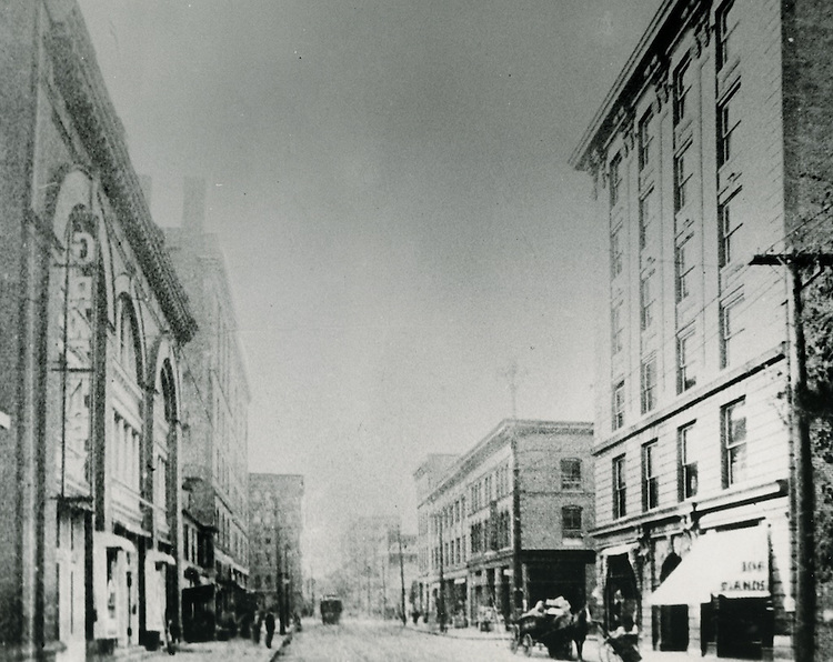 UNDATED..Historical..Looking South on Granby Street from Tazewell Street.from the collection of Carroll Walker...NEG#.NRHA#..