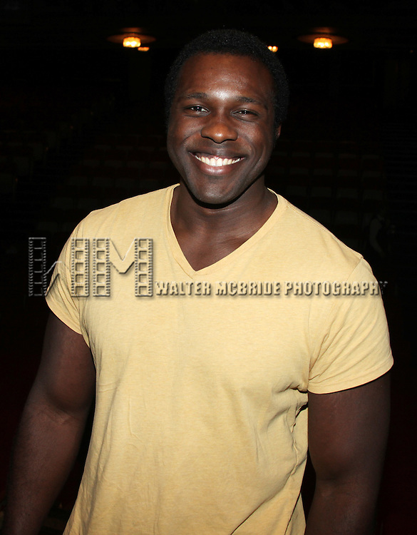 Joshua Henry.attending the Opening Night Performance Gypsy Robe Ceremony for 'The Gershwins' Porgy & Bess' Recipient J.D. Webster at the Richard Rodgers Theatre in New York City. 1/12/2012