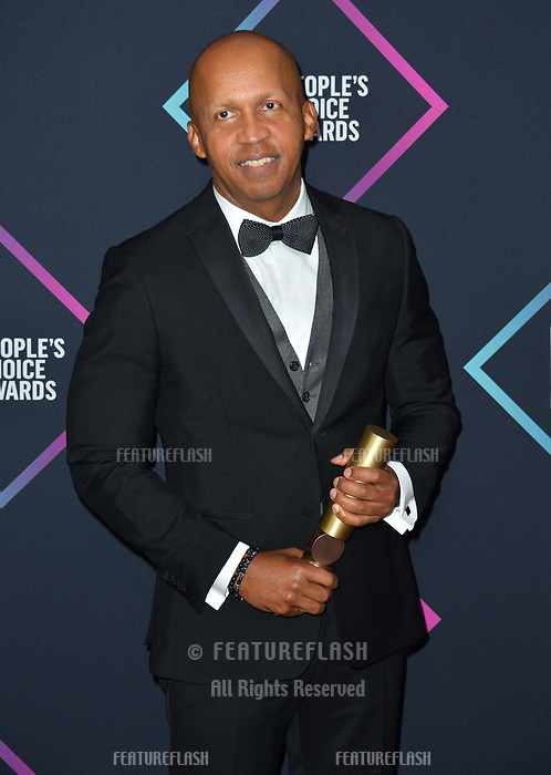 LOS ANGELES, CA. November 11, 2018: Bryan Stevenson at the E! People's Choice Awards 2018 at Barker Hangar, Santa Monica Airport.<br /> Picture: Paul Smith/Featureflash