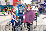 FAMILY: The Gaughran family and friend who took part in the Bike run from the Square Tralee on Saturday,to mark the finish of bike week. L-r: Rosemary Cronin, Gerry,Sinead,Bobbi and Cian Gaughan.