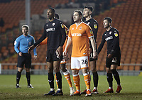 Blackpool's Steven Davies takes up position for a corner <br /> <br /> Photographer Rich Linley/CameraSport<br /> <br /> The EFL Sky Bet League One - Blackpool v Barnsley - Saturday 22nd December 2018 - Bloomfield Road - Blackpool<br /> <br /> World Copyright &copy; 2018 CameraSport. All rights reserved. 43 Linden Ave. Countesthorpe. Leicester. England. LE8 5PG - Tel: +44 (0) 116 277 4147 - admin@camerasport.com - www.camerasport.com