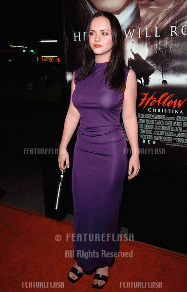 "17NOV99:  Actress CHRISTINA RICCI at the world premiere, in Hollywood, of her new movie ""Sleepy Hollow"" in which she stars with Johnny Depp..© Paul Smith / Featureflash"