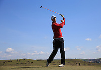 Jack Leek during Round Two of the West of England Championship 2016, at Royal North Devon Golf Club, Westward Ho!, Devon  23/04/2016. Picture: Golffile | David Lloyd<br /> <br /> All photos usage must carry mandatory copyright credit (&copy; Golffile | David Lloyd)