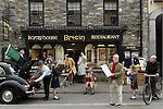 Killarney in the 1950's recreated for the Killarney Calendar Past & Present at Bricin Restaurant, Killarney. Photo: Don MacMonagle