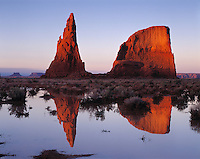 Refelections at the Dancing Rocks, Navajo Reseration, Arizona