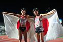 (L to R) Hitomi Niiya (JPN), Yuriko Kobayashi (JPN),JULY 9, 2011 - Athletics :The 19th Asian Athletics Championships Hyogo/Kobe, Women's 5000m Final at Kobe Sports Park Stadium, Hyogo ,Japan. (Photo by Jun Tsukida/AFLO SPORT) [0003]