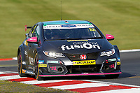 Round 10 of the 2018 British Touring Car Championship.  #22 Chris Smiley. BTC Norlin Racing. Honda Civic Type R.