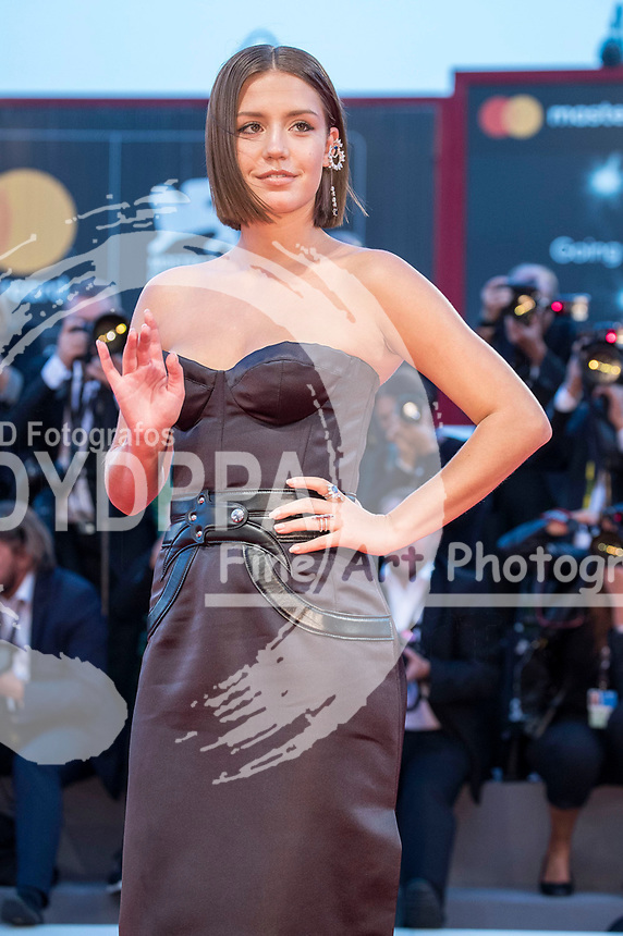 Adele Exarchopoulos attending the 'Le Fidèle' premiere at the 74th Venice International Film Festival at the Palazzo del Cinema on September 08, 2017 in Venice, Italy