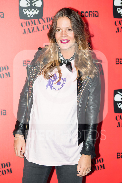 Barbara Mu&ntilde;oz attends the presentation of the brand &quot;Comando Jaza&quot; in Madrid, December 14, 2015<br /> (ALTERPHOTOS/BorjaB.Hojas)
