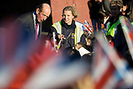 Pix: Shaun Flannery/sf-pictures.com..COPYRIGHT PICTURE>>SHAUN FLANNERY>01302-570814>>07778315553>>..26th November 2008..............HRH The Duke of Kent opens the Kiverton Park and Wales Village Hall, Rotherham..Foundation Teacher Rachel Lumb of Kiverton Park Infants School.