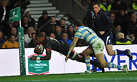 England v Argentina at Twickenham Stadium on November 11, 2017 in London, England. Old Mutual Wealth