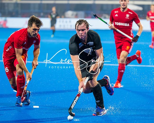 BHUBANESWAR - .England-New Zealand (2-0)   during Wold Cup Hockey men. COPYRIGHT KOEN SUYK