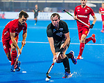 BHUBANESWAR - .England-New Zealand (2-0)   during Wold Cup Hockey men. COPYRIGHT KOEN SUYK