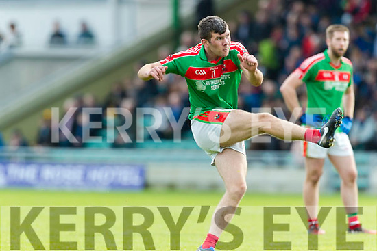 Kerins O'Rahillys in action against Kevin McCarthy  Kilcummin Senior Football Championship Relegation Playoff in Austin Stack Park on Sunday
