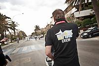 PESCARA (PE) 10/06/2012 - IRON MAN ITALY 70.3 ITALY. NELLA FOTO IL LOGO DELLA MANIFESTAZIONE. FOTO DI LORETO ADAMO
