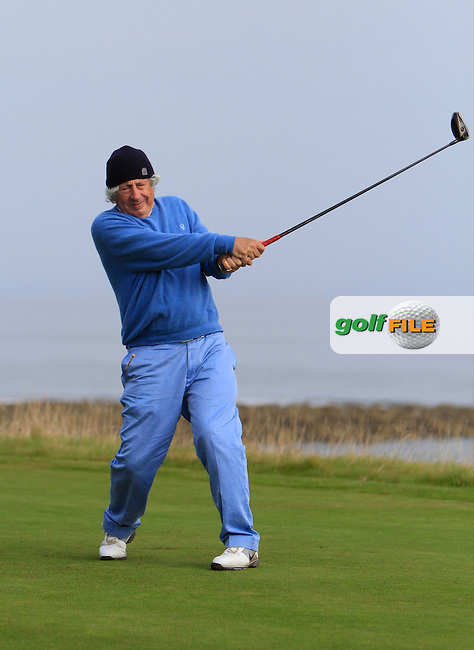 Sir Martyn Arbib during Round 2 of the Alfred Dunhill Links Championship at Kingsbarns Golf Club on Friday 27th September 2013.<br /> Picture:  Thos Caffrey / www.golffile.ie