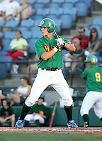 Kyler Burke / Boise Hawks at bat against the Yakima Bears at Boise, ID - 08/27/2008..Photo by:  Bill Mitchell/Four Seam Images
