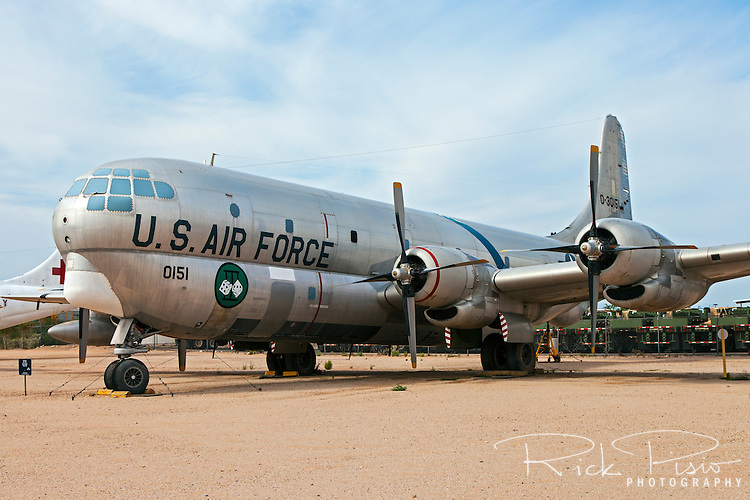 Boeing KC-97G Stratofreighter on display at the Pima Air Museum in Tucson, Arizona.