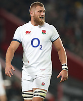 Brad Shields of England during the 2018 Castle Lager Incoming Series 1st Test match between South Africa and England at Emirates Airline Park,<br /> Johannesburg.South Africa. 09,06,2018 Photo by (Steve Haag Sports)