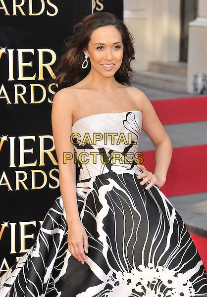 LONDON, ENGLAND - APRIL 13: Myleene Klass attends the Olivier Awards 2014, Royal Opera House, Covent Garden, on Sunday April 13, 2014 in London, England, UK.<br /> CAP/CAN<br /> &copy;Can Nguyen/Capital Pictures