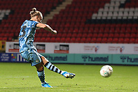 Joseph Mills of Forest Green Rovers scores the first penalty for Rovers in the Shoot-out during Charlton Athletic vs Forest Green Rovers, Caraboa Cup Football at The Valley on 13th August 2019