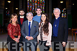 ORDINATION to the Permanent Diaconate of Pat Coffey, Killorglin by Bishop Ray Browne at St. John's Church on Saturday with family Kathleen Coffey, John Coffey, Patrick Coffey, David Coffey, Caitlyn Coffey with  Bishop Ray Browne