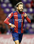 Levante UD's Jose Luis Morales celebrates goal during La Liga Second Division match. March 11,2017. (ALTERPHOTOS/Acero)