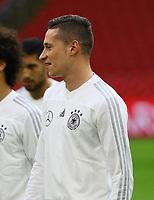 Julian Draxler (Deutschland, Germany) - 12.10.2018: Abschlusstraining der Deutschen Nationalmannschaft vor dem UEFA Nations League Spiel gegen die Niederlande