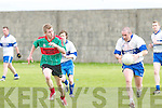 A busy weekend for Beale. Having beaten Waterville in the County League on Saturday a depleted team lost to Castleisland Desmonds the next day. Here Desmonds Kieran Sullivan breaks away from Beales Sean OSullivan. .