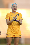 09 September 2016: West Virginia's Alli Magaletta. The Duke University Blue Devils hosted the West Virginia University Mountaineers at Koskinen Stadium in Durham, North Carolina in a 2016 NCAA Division I Women's Soccer match. West Virginia won the match 3-1.