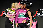German Champion Pascal Ackermann (GER) Bora-Hansgrohe retains the Maglia Ciclamino at the end of Stage 10 of the 2019 Giro d'Italia, running 145km from Ravenna to Modena, Italy. 21st May 2019<br /> Picture: Gian Mattia D'Alberto/LaPresse | Cyclefile<br /> <br /> All photos usage must carry mandatory copyright credit (© Cyclefile | Gian Mattia D'Alberto/LaPresse)