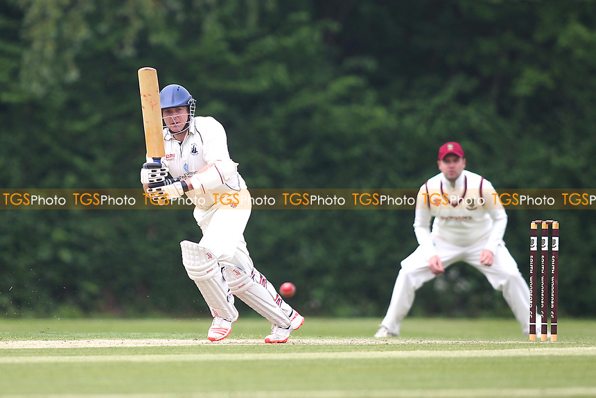 David Hinnigan of Billericay during South Woodford CC vs Billericay CC, Shepherd Neame Essex League Cup Cricket at Highfield Road on 6th May 2017