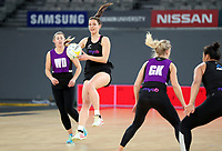22.09.2018 Silver Ferns Karin Burger in action during Silver Ferns training in Melbourne. Mandatory Photo Credit ©Michael Bradley.
