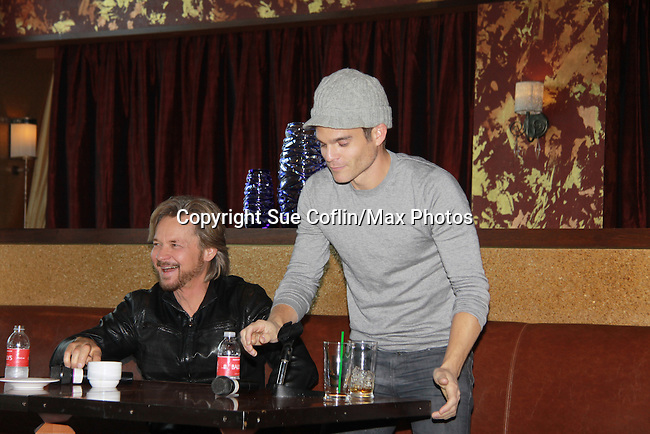"""Drama Brunch - The Young & The Restless Stephen Nichols and Greg Rikaart came for the fans with a brunch and photos during the Soap Opera Festivals Weekend - """"All About The Drama"""" on March 25, 2012 at Bally's Atlantic City, Atlantic City, New Jersey.  (Photo by Sue Coflin/Max Photos)"""
