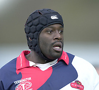 29/02/2004  -  Powergen  Cup - London Wasps v Pertemps Bees.Bees - Luke Nabaro    [Mandatory Credit, Peter Spurier/ Intersport Images].