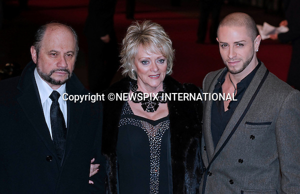 """Brian Friedman and family.World Premiere of NINE.Attended by the all star cast including Daniel Day-Lewis, Penelope Cruz, Dame Judi Dench, Kate Hudson and Nicole Kidman_Odeon Leicester Square_London, 03/12/2009..Mandatory Photo Credit: ©Dias/Newspix International..**ALL FEES PAYABLE TO: """"NEWSPIX INTERNATIONAL""""**..PHOTO CREDIT MANDATORY!!: NEWSPIX INTERNATIONAL(Failure to credit will incur a surcharge of 100% of reproduction fees)..IMMEDIATE CONFIRMATION OF USAGE REQUIRED:.Newspix International, 31 Chinnery Hill, Bishop's Stortford, ENGLAND CM23 3PS.Tel:+441279 324672  ; Fax: +441279656877.Mobile:  0777568 1153.e-mail: info@newspixinternational.co.uk"""