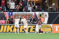 Atlanta, GA - Saturday April 27, 2019: Atlanta United defeated the Colorado Rapids 1-0 in a Major League Soccer (MLS) game at Mercedes-Benz Stadium.